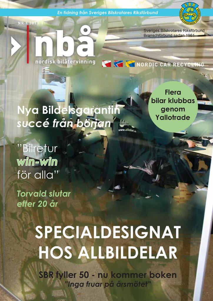 Tidningen NBÅ - SBR Service - Nummer 1 - 2011