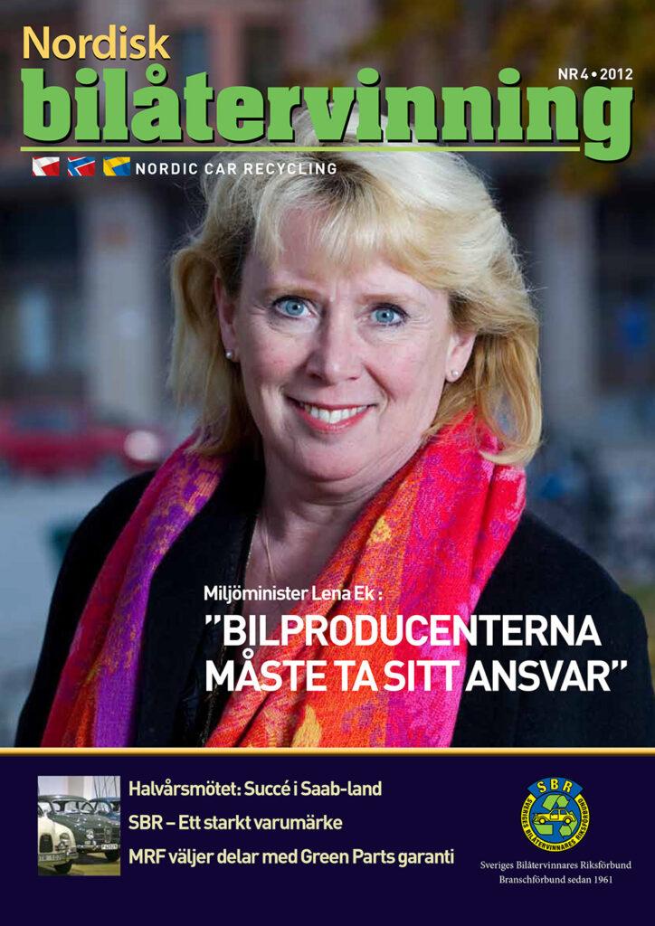 Tidningen NBÅ - SBR Service - Nummer 4 - 2012