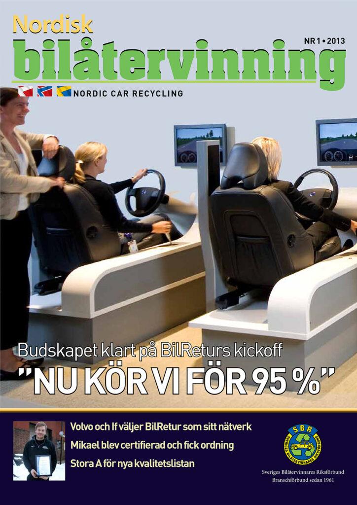Tidningen NBÅ - SBR Service - Nummer 1 - 2013