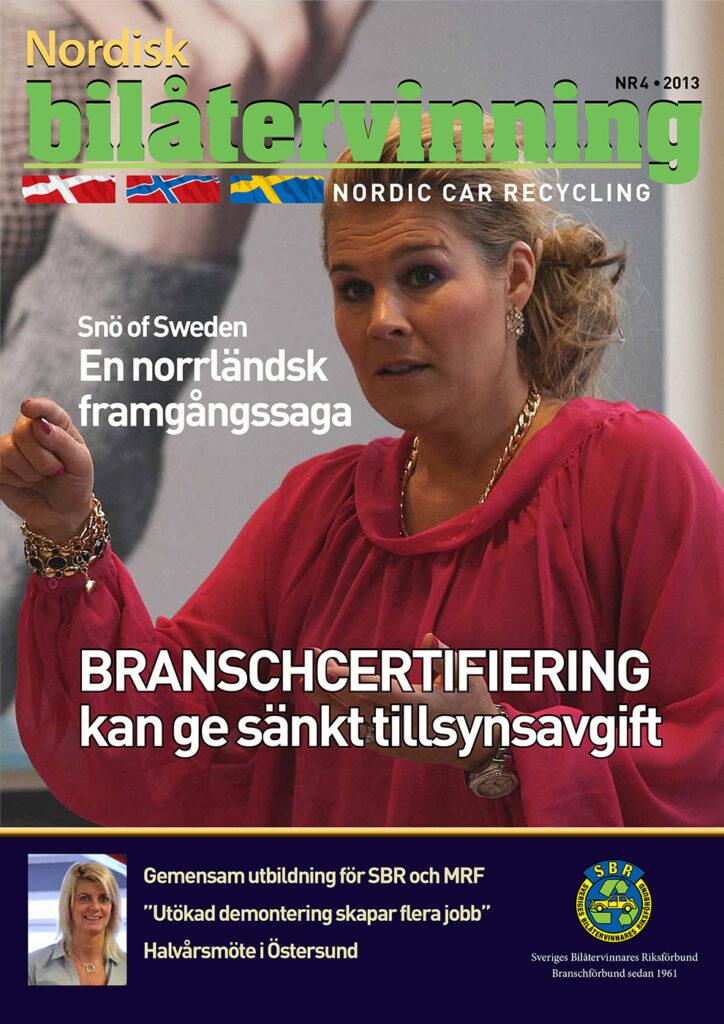Tidningen NBÅ - SBR Service - Nummer 4 - 2013