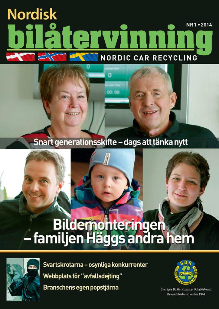 Tidningen NBÅ - SBR Service - Nummer 1 - 2014