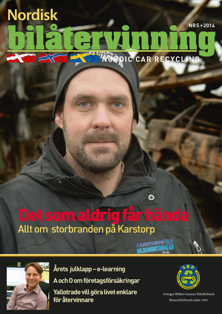 Tidningen NBÅ - SBR Service - Nummer 5 - 2014