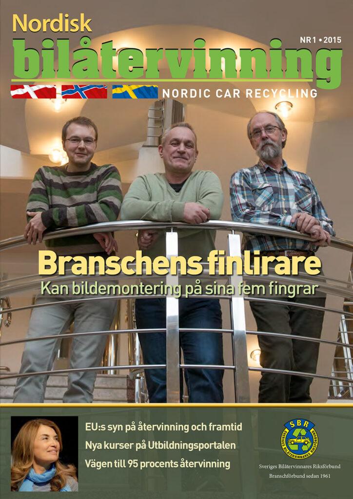 Tidningen NBÅ - SBR Service - Nummer 1 - 2015