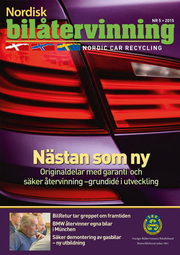 Tidningen NBÅ - SBR Service - Nummer 5 - 2015