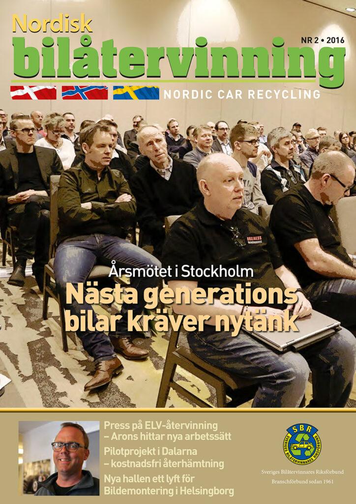 Tidningen NBÅ - SBR Service - Nummer 2 - 2016