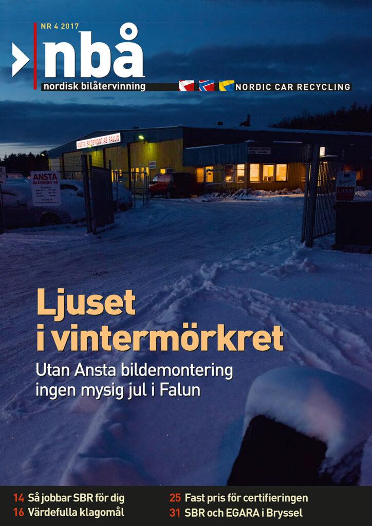 Tidningen NBÅ - SBR Service - Nummer 4 - 2017